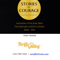 ThriftValley, a vendor at the June edition of Stories Of Courage Live. Get in touch :)