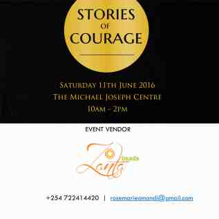 Zanta Beads, a vendor at the June edition of Stories Of Courage Live. Contact them :)
