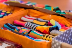 Thrift Valley shows off their wares at Stories of Courage: June Edition. Image by Amos Ndumos Photography.