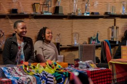 Thrift Valley, displaying their wares at Stories of Courage: June Edition. Image by Amos Ndumos Photography.