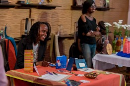 Shiro Njagi Design, displaying their work at Stories of Courage: June Edition. Image by Amos Ndumos Photography.