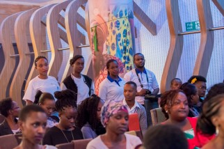 Reinit Research, at Stories of Courage: June Edition. Image by Amos Ndumos Photography.